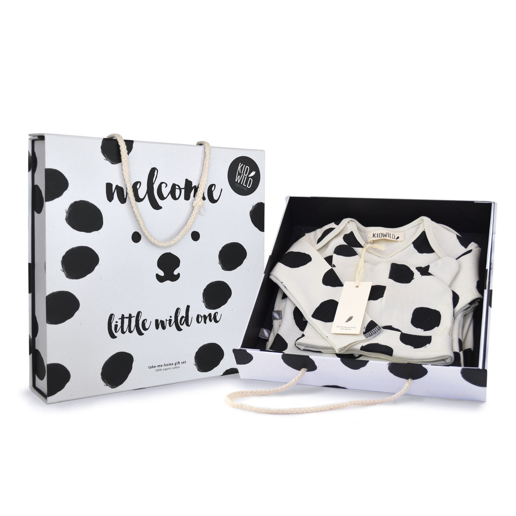 Layette Gift Set - Dots