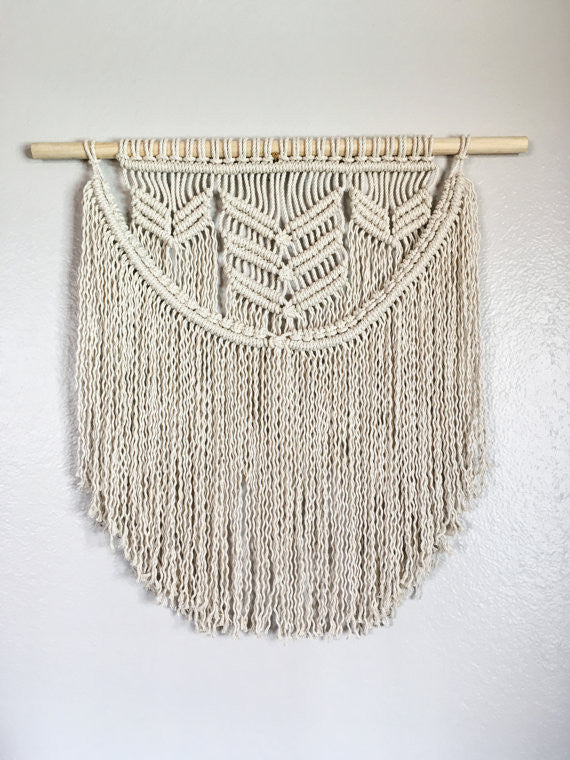 Macramè medium wall hanging