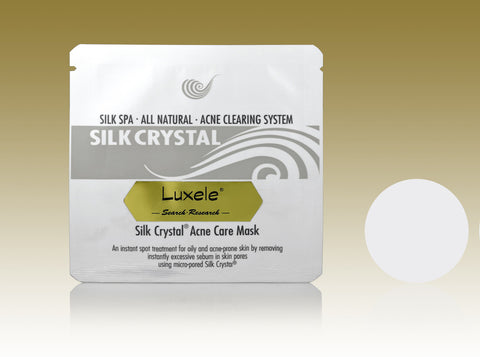 Luxele® Silk Crystal® Acne Mask