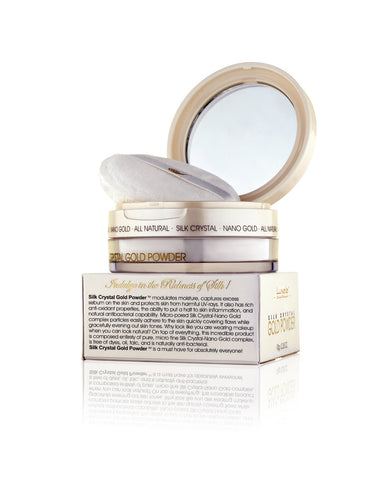 Luxele® Pure Silk Crystal® Gold Powder
