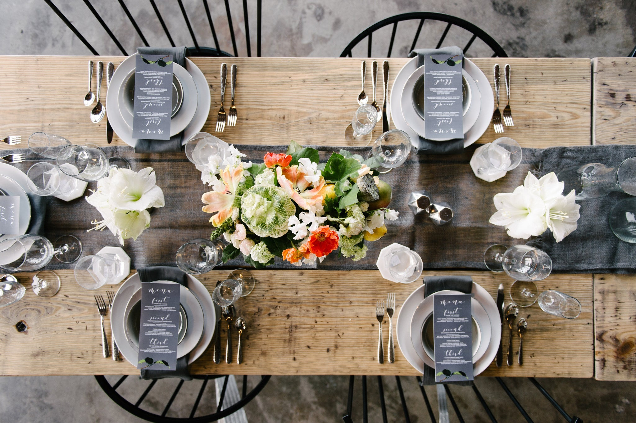 Urban Reception Shoot with West Elm