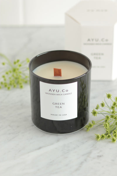 Ayu & Co. Green Tea Candle