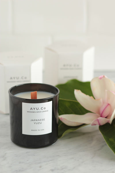 Ayu & Co. Japanese Yuzu Candle