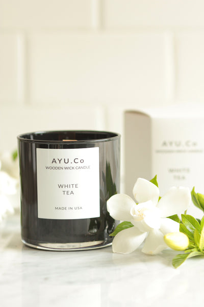 Ayu & Co. White Tea Candle