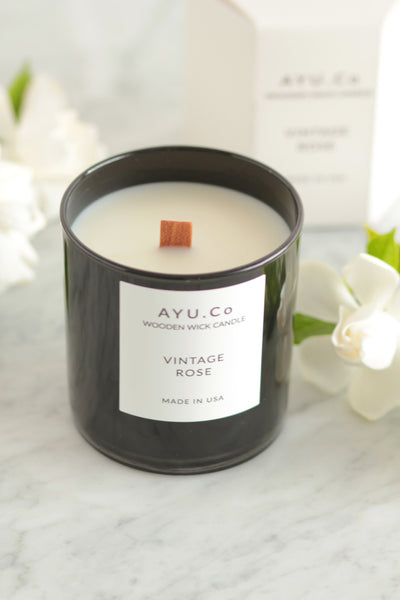 Ayu & Co. Vintage Rose Candle