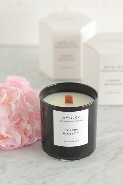 Ayu & Co. Cherry Blossom Candle