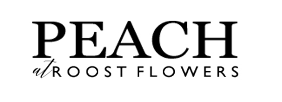 PEACH at Roost Flowers