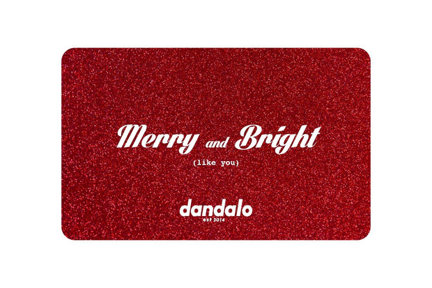Gift Card - Bright Red - dandalo