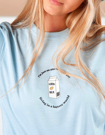 "T-Shirt Donna ""Almond Milk Girl"" - dandalo"