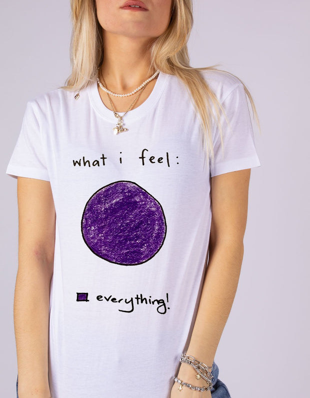 "T-Shirt Donna ""Everything"" - dandalo"