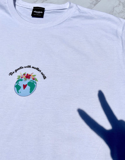 "T-Shirt Donna ""Mother Earth"" - dandalo"