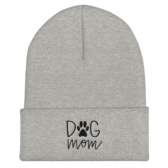 women's beanie, dog mom winter hat