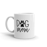 proud dog mom coffee mug
