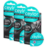 ceylor Non-Latex Ultra Thin 6er Tripple Packung (18 Kondome)