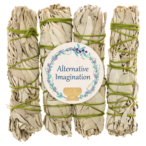 Premium California White Sage Smudge Sticks