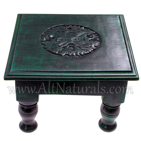 The Green Man Altar Table (Clearance)