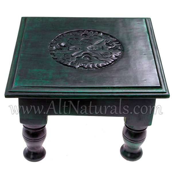 The Green Man Altar Table