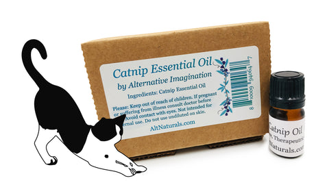 Premium 100% Pure Catnip Essential Oil - 5ml