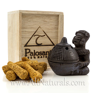 Premium Palo Santo Cone Bowl Burner, Chief Design