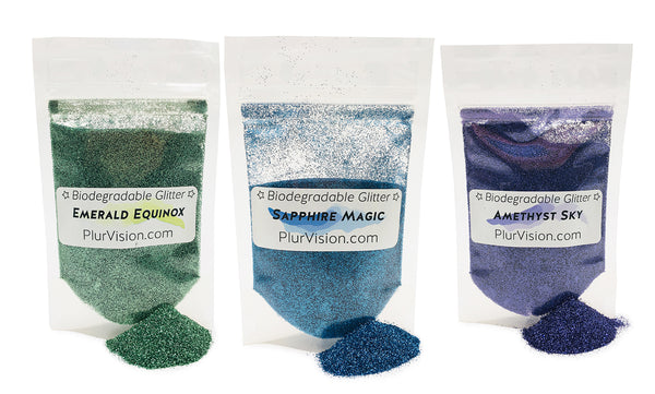 ✨ Dazzling Gem Eco-Glitter Value Pack (3 in 1!) ✨