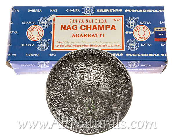 Nag Champa Bundle with Alternative Imagination Incense Burner