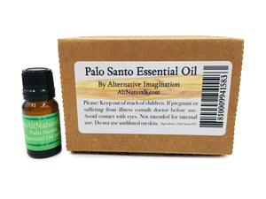 Premium Palo Santo Essential Oil (10ml)
