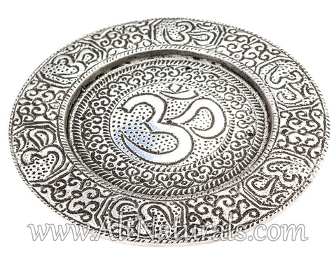 Om Plate Incense Burner