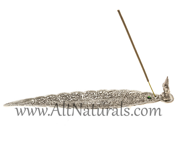 Aluminum Leaf Incense Burners