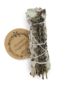 California White Sage with Lavender Incense Bundles