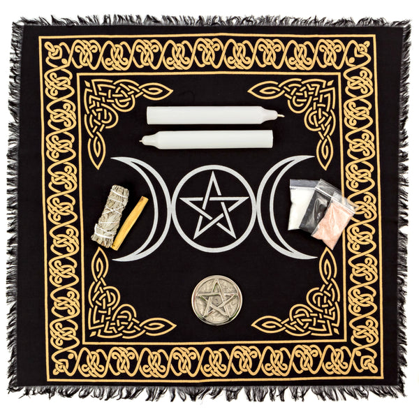 Triple Moon Altar Cloth (Clearance)
