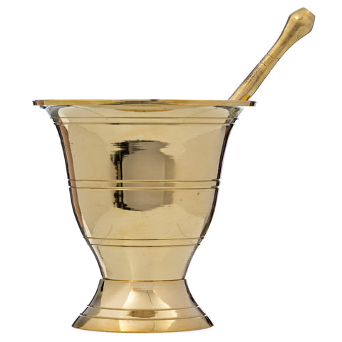 Brass Mortar and Pestle (Clearance)