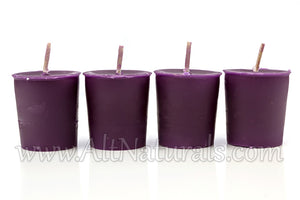 100% Premium Scented Beeswax Candle Votive (Pack of 4)