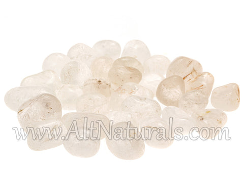 Clear Quartz (1/2 Pound, Tumbled)