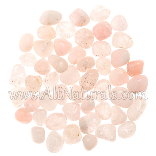 Tumbled Rose Quartz (1/2 Pound)