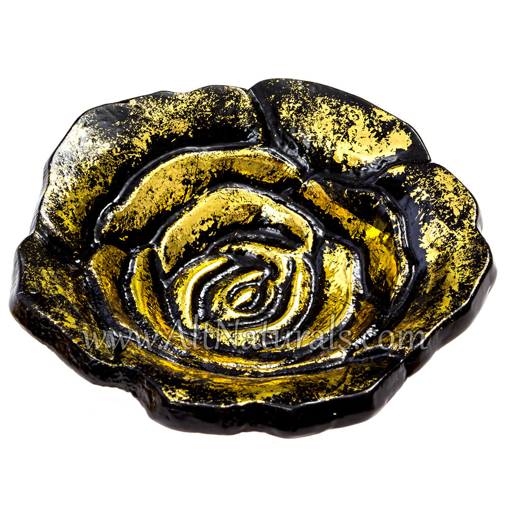 Rose Bowl Incense Holder