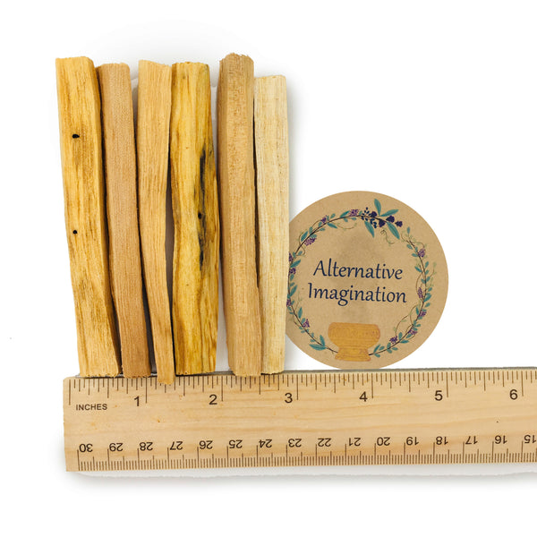 Palo Santo, Holy Wood Incense Sticks (Pack of 6, 12, or 20)