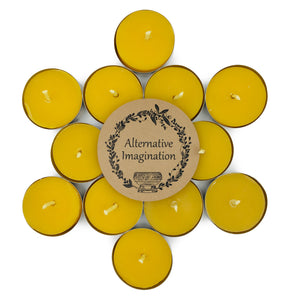 100% Pure, Natural Beeswax Tea lights
