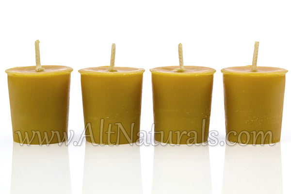 100% Premium Beeswax Candle Votives