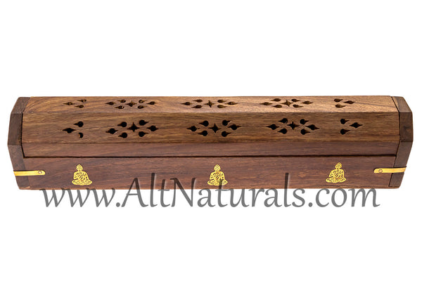 Handcrafted Coffin Incense Burners