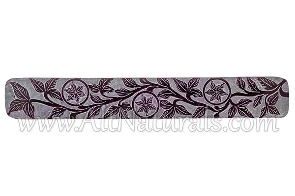 Floral Stone Incense Holder