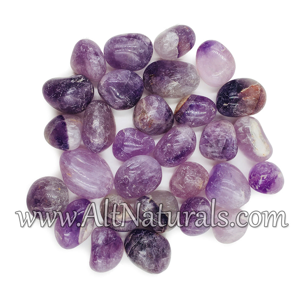 Tumbled Amethyst - 1/2 Pound