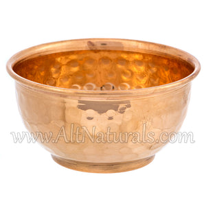 Copper Offering Bowls for Rituals, Prayers, Smudging, Decor