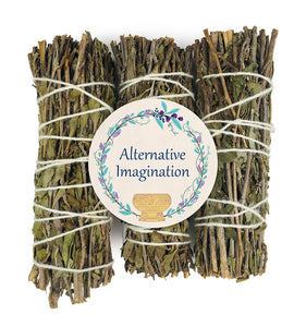Mugwort Incense Bundles