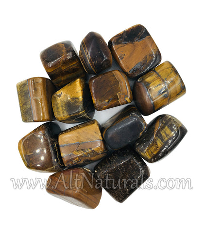 Premium Polished Tiger's Eye (1/2 Pound Bag)