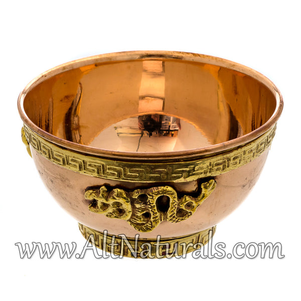 Dragon Copper Offering Bowl Kit