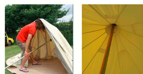 Shumaxx Bell Tent Set up Instructions | Shumaxx