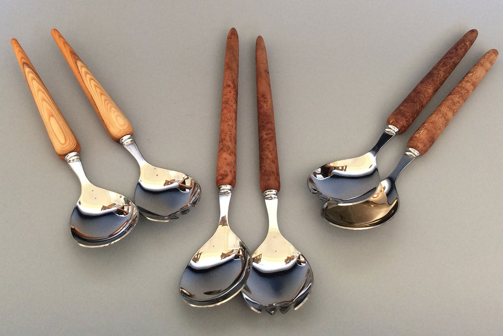 Handmade Salad Servers by Paul Khosla