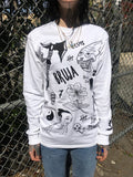 GRACE NEUTRAL BRUJA LONG SLEEVE UNISEX TEE