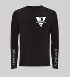 TEMPLES DIVIDED LONGSLEEVE TEE