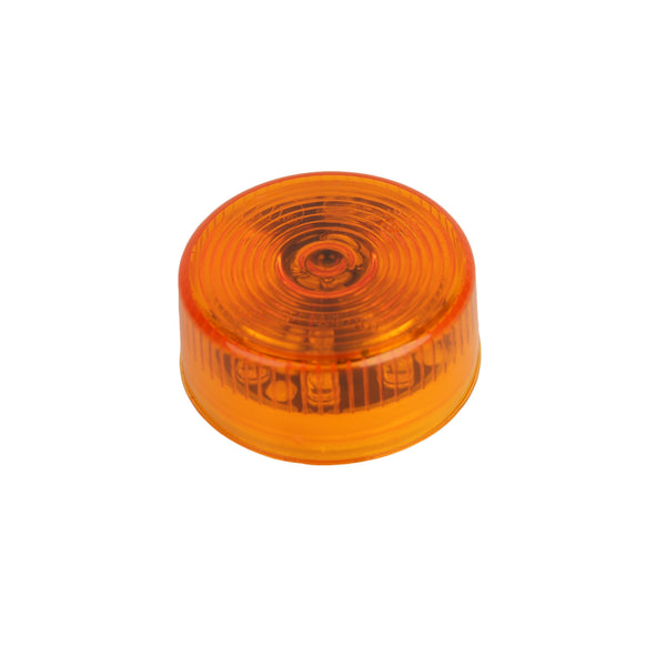 LED 2″ Amber Round Clearance Light 9 LED